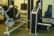 Leg Press and Leg Extension Machines